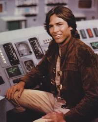 Captain Apollo in the original series played by Richard Hatch