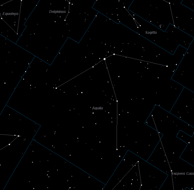 Aquila, The Eagle Constellation Facts, Mythology and How to
