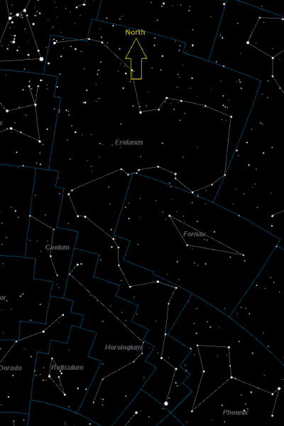 Eridanus, River Eridanus Constellation Facts, Mythology and