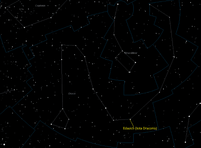 Edasich (Iota Draconis, 12 Draconis) Star Facts - Universe Guide