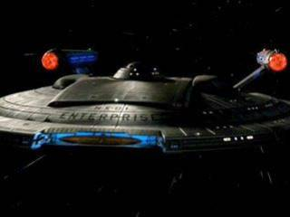 USS Enterprise NX-01 from Star Trek - Enterprise.