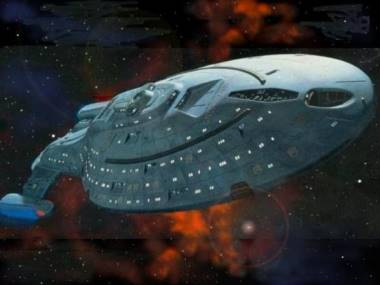 USS Voyager from Star Trek - Voyager.