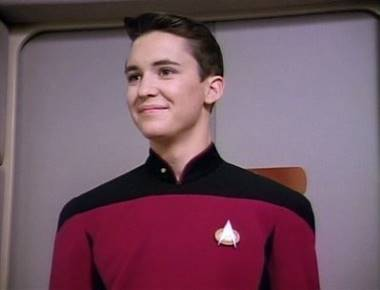 Wesley Crusher from Star Trek - The Next Generation played by Will Wheaton.