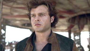 Young Han Solo played by Alden Ehrenreich