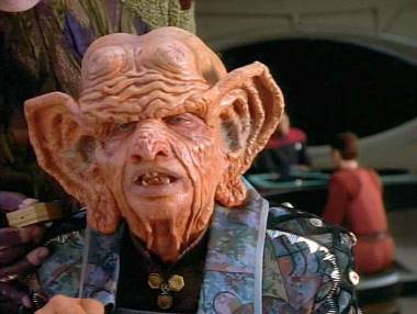 Zek from Star Trek - Deep Space Nine played by Wallace Shawn.