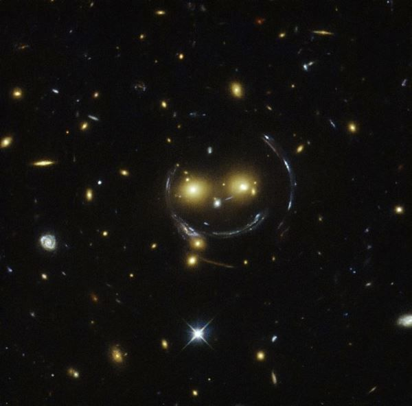 N.A.S.A. photo of a smiling face in Ursa Major