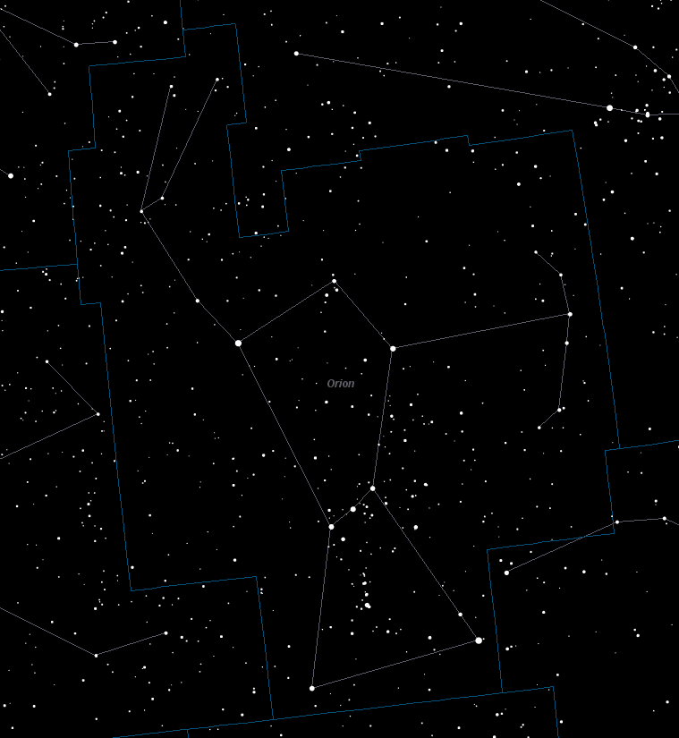 Orion, The Hunter Constellation Facts, Mythology and How to Find