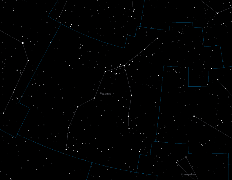 Perseus, Perseus Constellation - Universe Guide