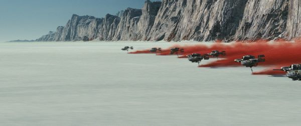 The salt plains of Crait