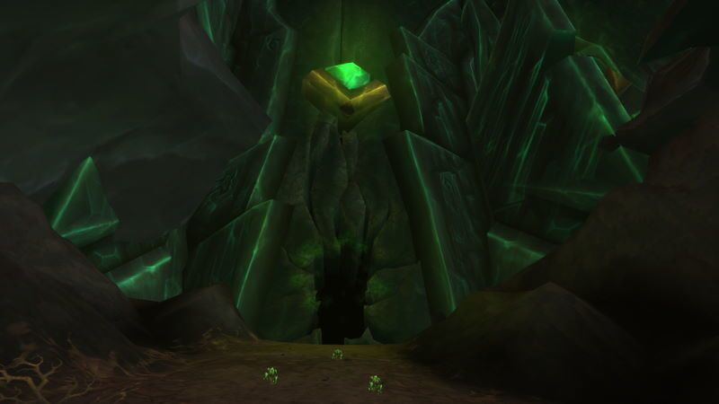 Entrance of Antorus, the Burning Throne