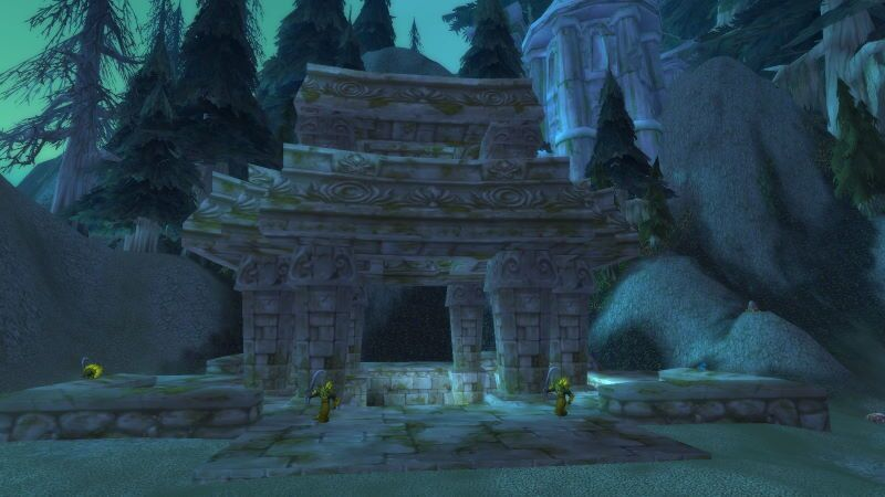 Entrance of Blackfathoms Deep