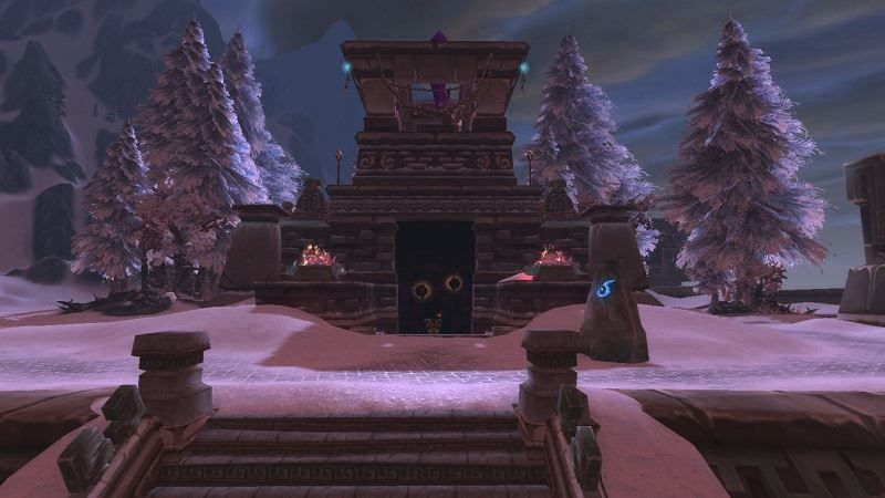 Entrance of Gundrak