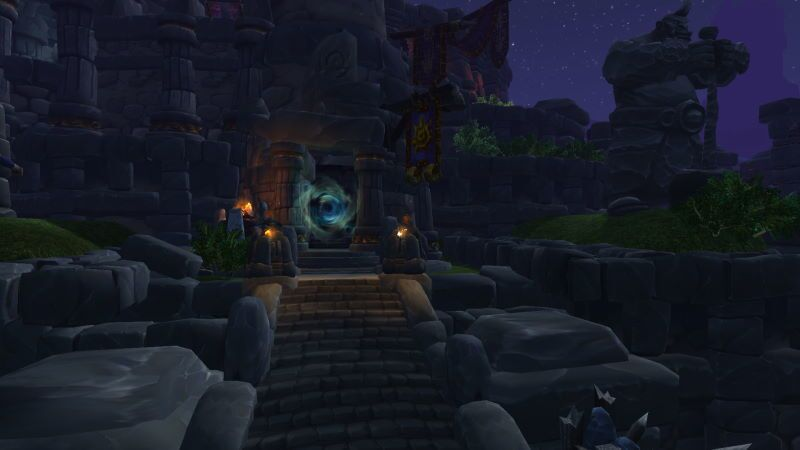 Entrance of Highmaul