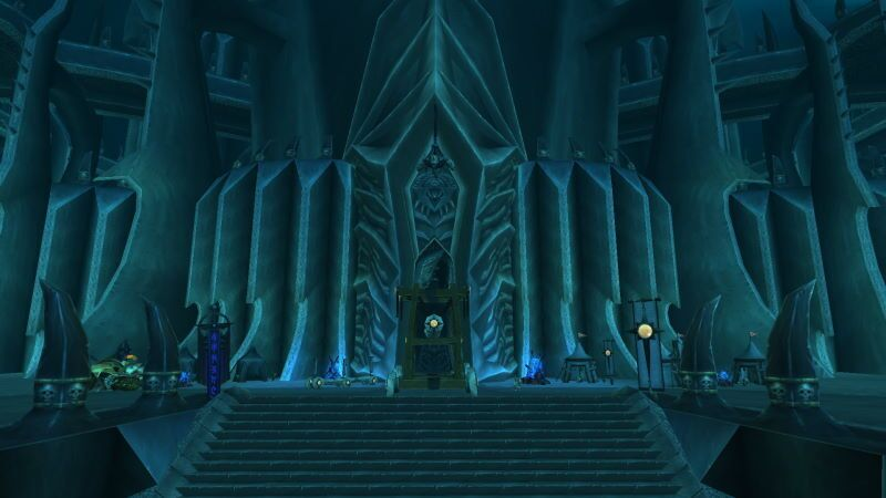 Entrance of Icecrown Citadel