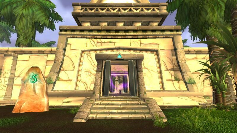 Entrance of Lost City of Tol`vir