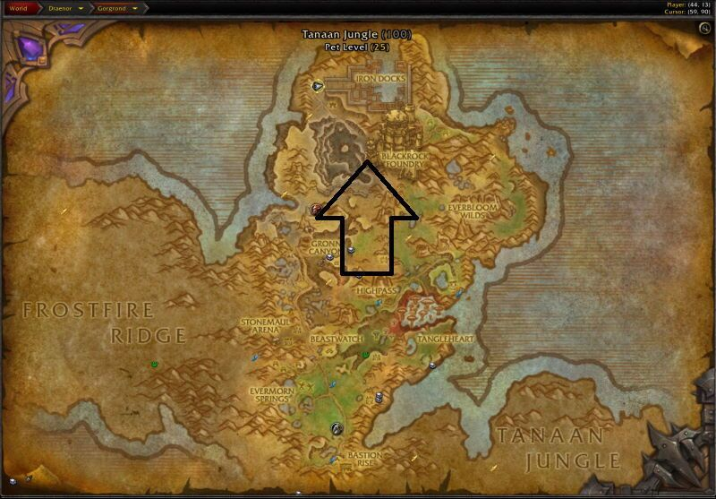 Location of Blackrock Foundry