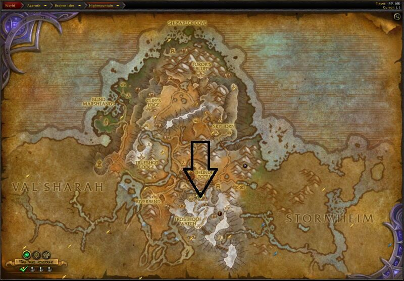Location of the Entrance to Neltharions Lair (Visit Page for More Pictures and Information)