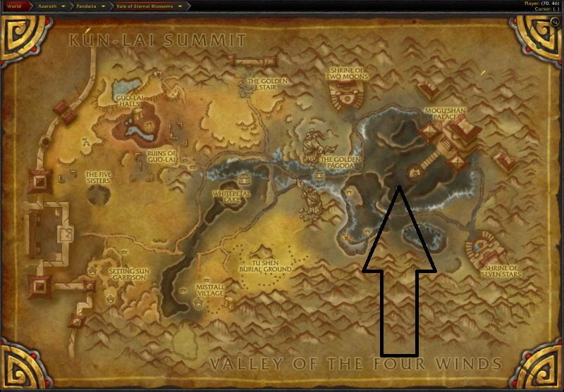 Location of Siege of Orgrimmar