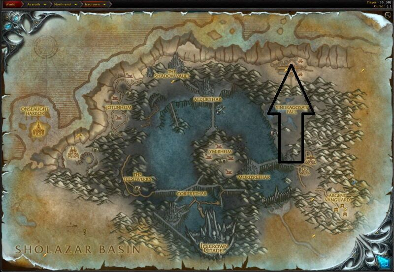Location of Trial of the Champion