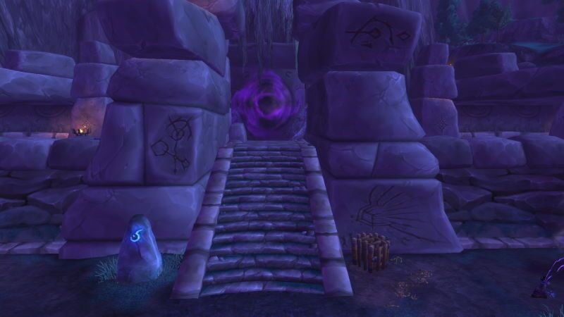 Entrance of Shadowmoon Burial Grounds