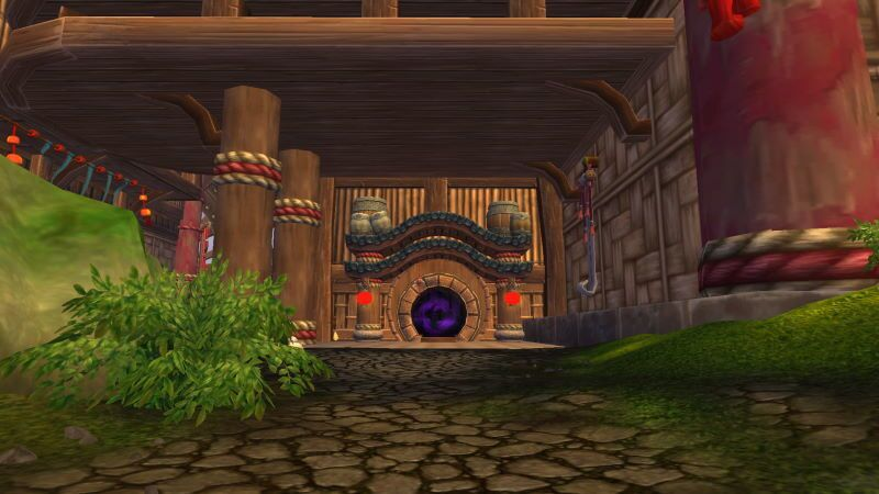 Entrance of Stormstout Brewery