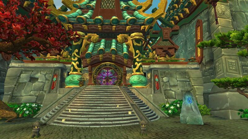 Entrance of Temple of the Jade Serpent