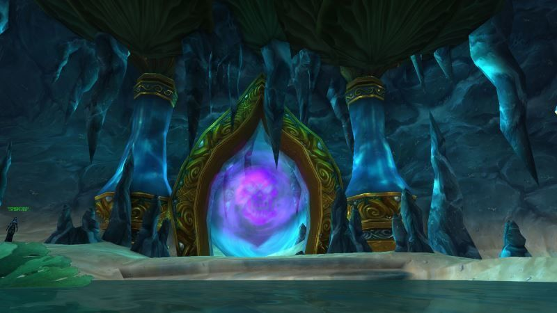 Entrance of Throne of the Tides
