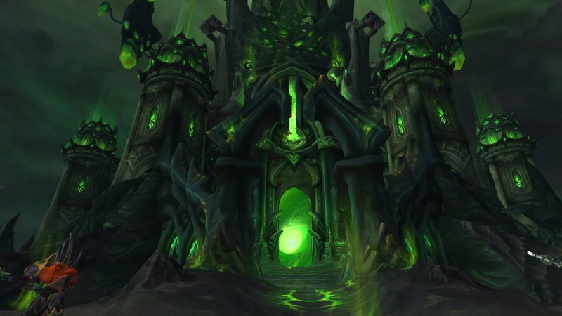 Entrance of Tomb of Sargeras