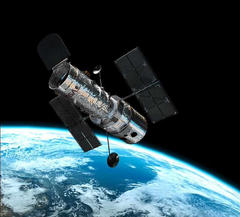 Artists Impression of the Hubble Space Telescope