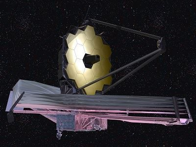 Artists Impression of the James Webb Telescope