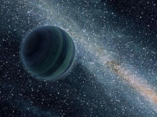 NASA Artists` impression of a Rogue Planet.