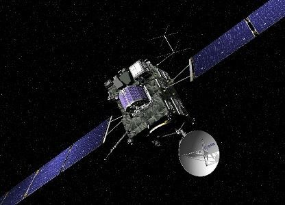 The Rosetta Space Probe (Copyright ESA)
