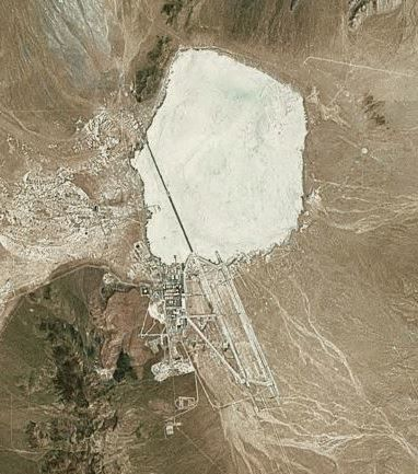 Aerial Photo of Area 51