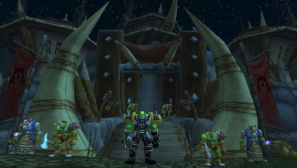 How to start the battle at the Horde Encampment in Battle for Mount Hyjal Raid.