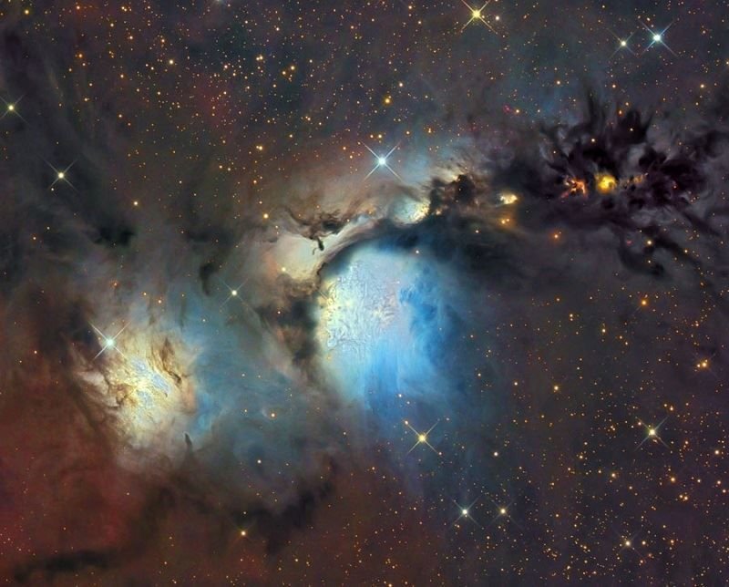 Messier 78 (NGC2068) Reflection Nebula in Orion