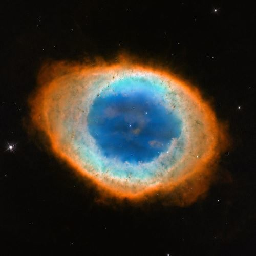Ring Nebula (M57, NGC6720) Supernova Remnant in Lyra