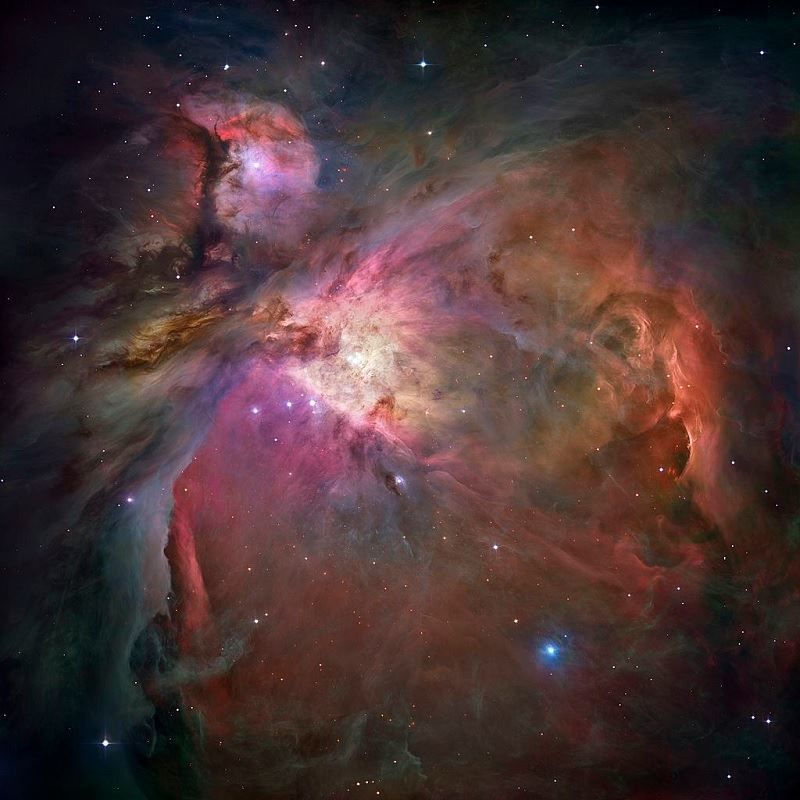 The Great Orion Nebula (M42, NGC1976) Emission/Reflection Nebula in Orion