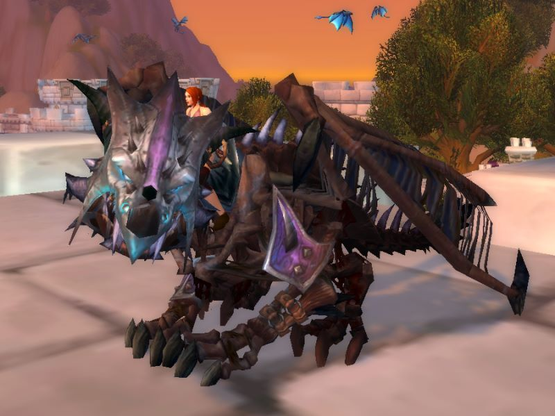 Bloodbathed Frostblood Vanquisher Mount from Icecrown Citadel