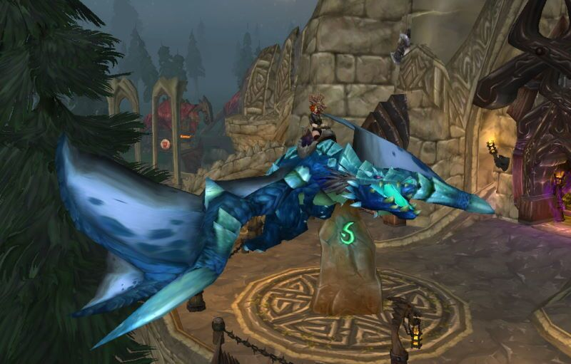 Blue Proto-drake Mount from Utgarde Pinnacle