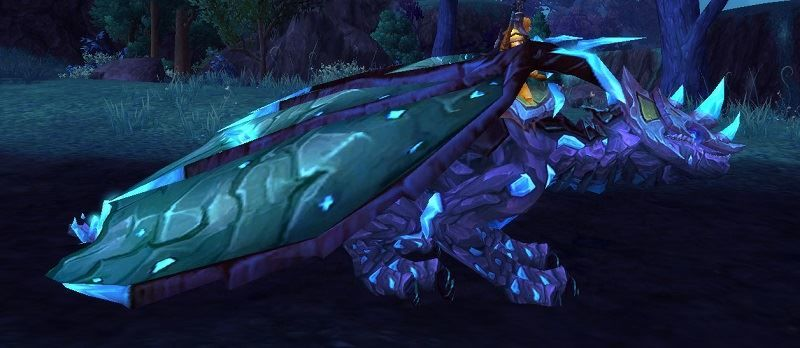 Vitreous Stone Drake Mount from The Stonecore