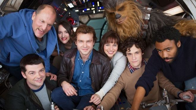 First picture of the cast of the new Han Solo Movie