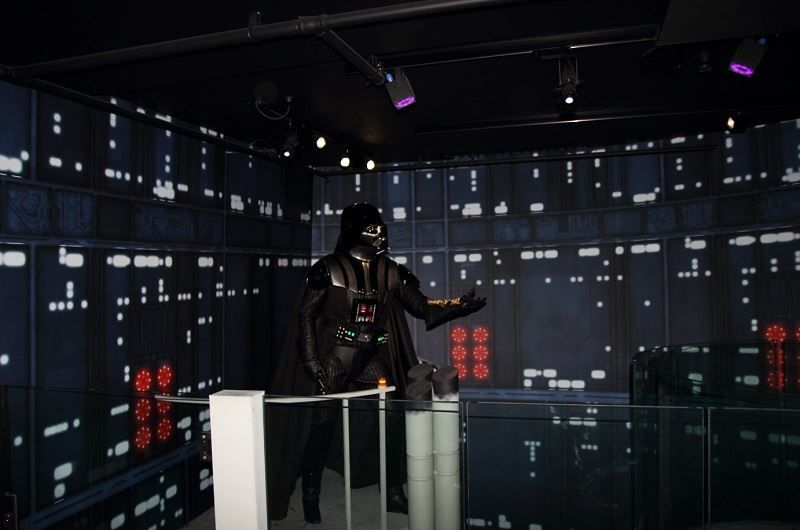 Scene from Empire Strikes Back at Madame Tussauds