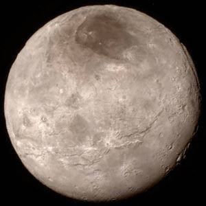 Image of the Pluto moon of Charon