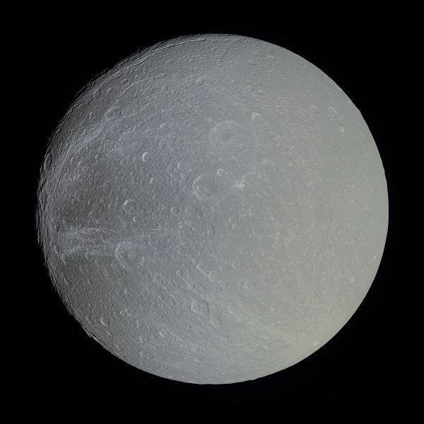 Image of the Saturn moon of Dione