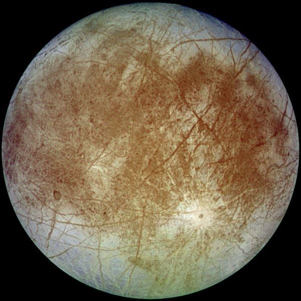 Image of the Jupiter moon of Europa
