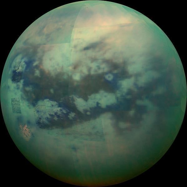 Image of the Saturn moon of Titan