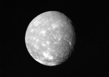 Image of the Uranus moon of Titania