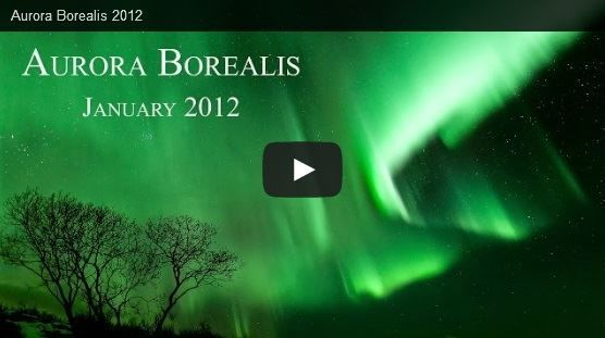 Video by Christopher Tandy of a Green Aurora Borealis