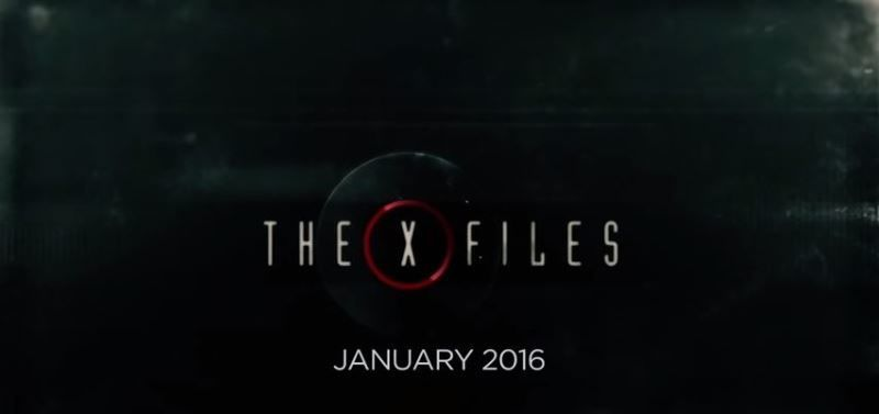 Trailer for the 2016 X-Files Series