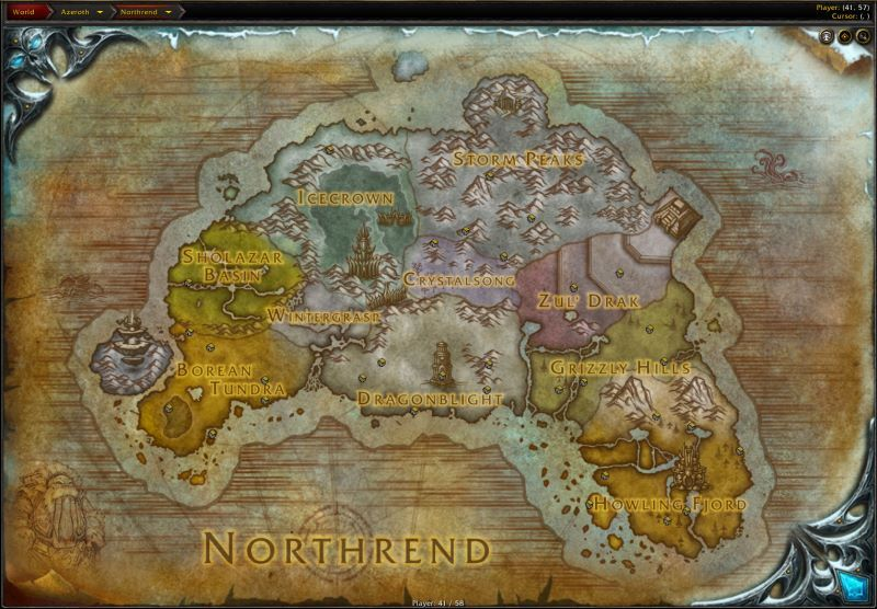 The Continent of Northrend